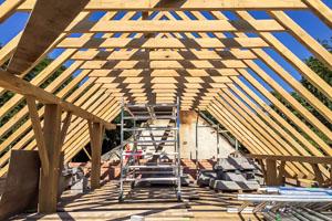 Diverse houtconstructies